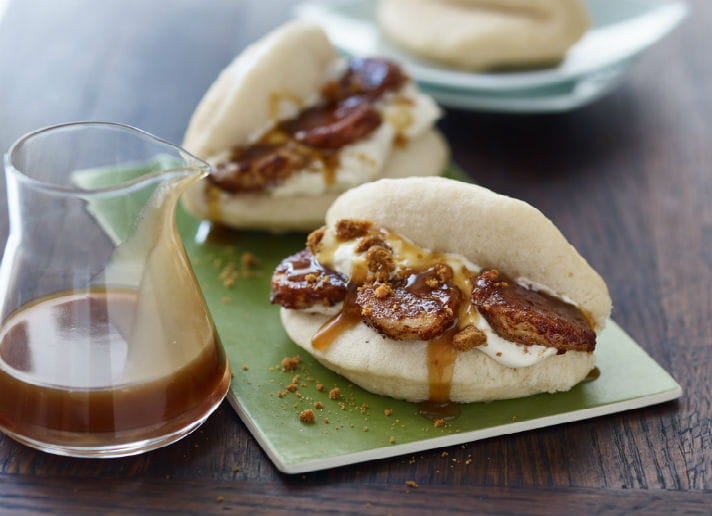pecan-bao-bun-with-caramel